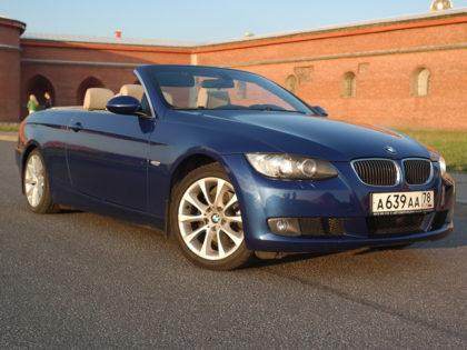 BMW 3 Cabrio Blue Pearl
